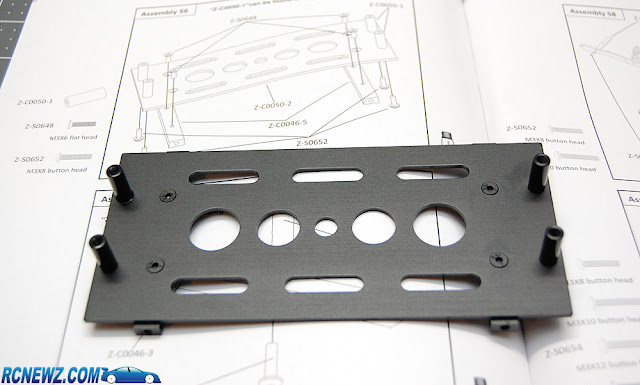RC4WD Beast 2 battery tray