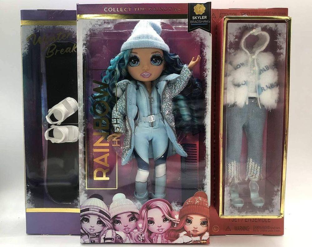 Кукла Rainbow High Winter Break Skyler Bradshaw 2021