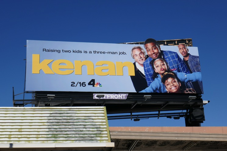 Kenan extension cut-out billboard