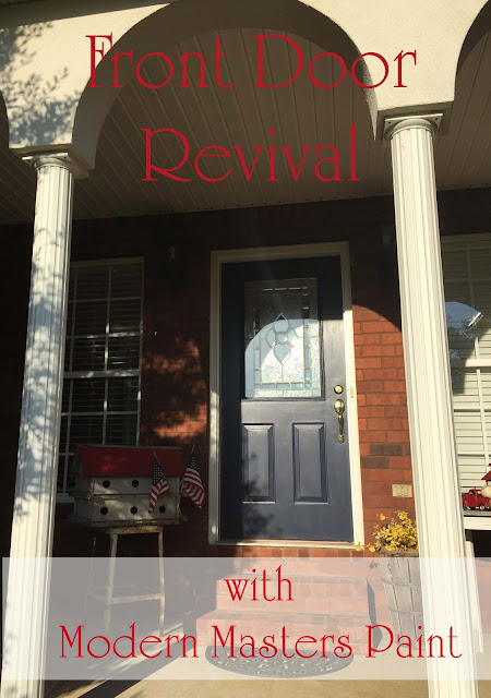 front door revival modern masters paint