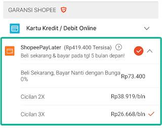 Tips agar Akun Shopee kamu layak dan terpilih mendapatkan fitur ShopeePayLater