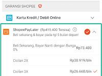 Info Resmi Tentang Fitur Baru ShopeePayLater