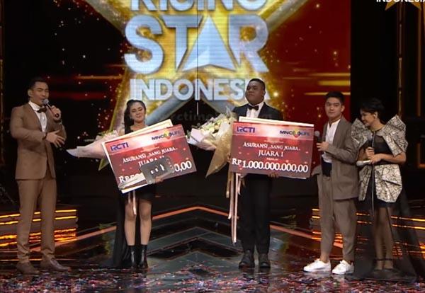 Pemenang Juara Rising Star Indonesia Tadi Malam 27 Maret 2017