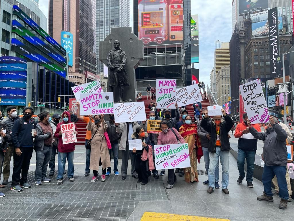 Protest against hindu genocide across the world