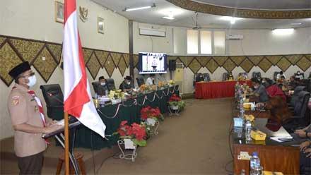 Wako Hendri Septa Sampaikan RAPBDP 2021 ke DPRD Padang