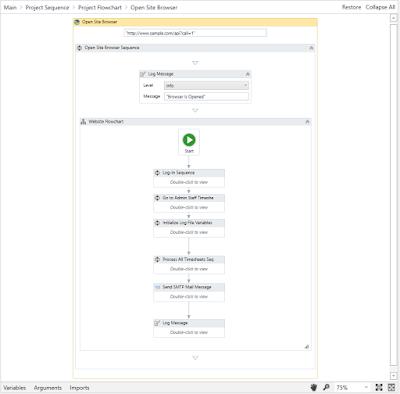 RPA Solution using UiPath Community Edition