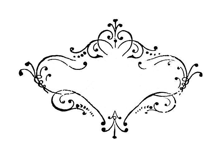 Vintage Scroll Design 14
