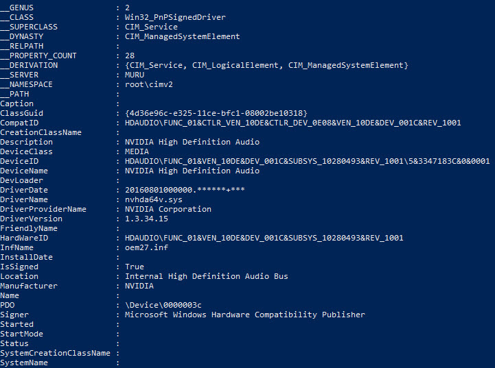 Muru System Center Experience: Find and delete specific