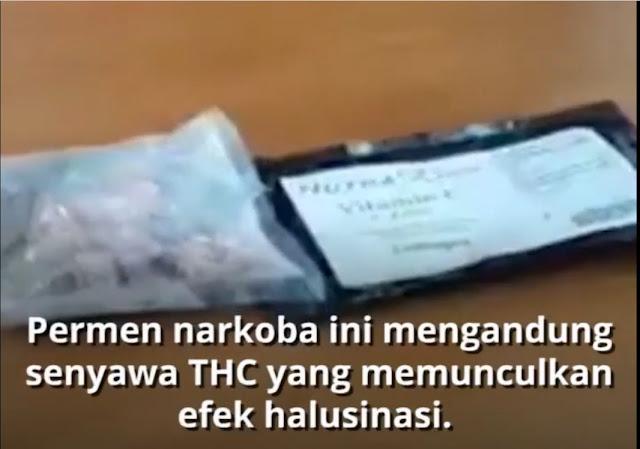 Narkoba Berbentuk Permen Merebak di Jawa Tengah, BNNP Jateng: Efeknya Bisa Bikin Halusinasi