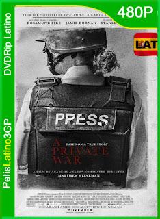 A Private War (2018) | DVDRip Latino HD GoogleDrive 1 Link