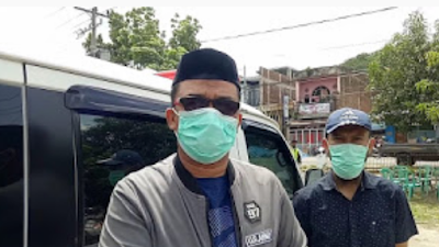 Jenazah Covid-19 Berdomisili Sidrap Dimakamkan Di Desa Amessangeng Pinrang