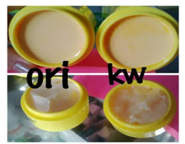 Ciri Cream Trmulawak Original / Palsu Serta Manfaat dan Kelebihannya
