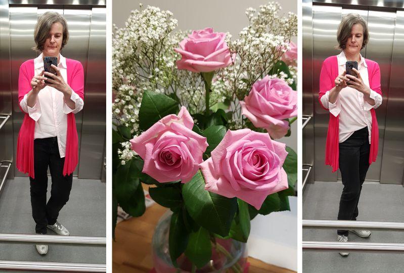 Pink und Rose. Ganz neu für mich.
