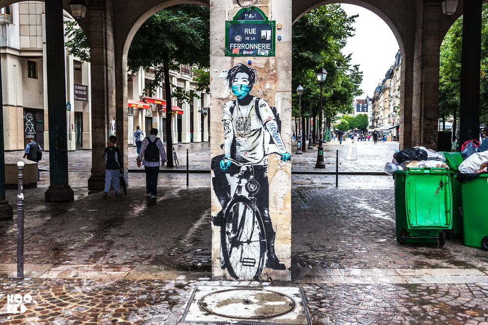 Paris Street Art by artist Eddie Cola