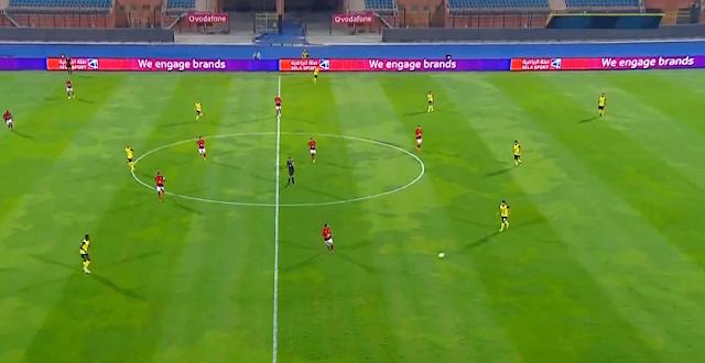 الأهلي يفوز بصعوبة على وادي دجلة في الجولة الثالثة من الدوري المصري