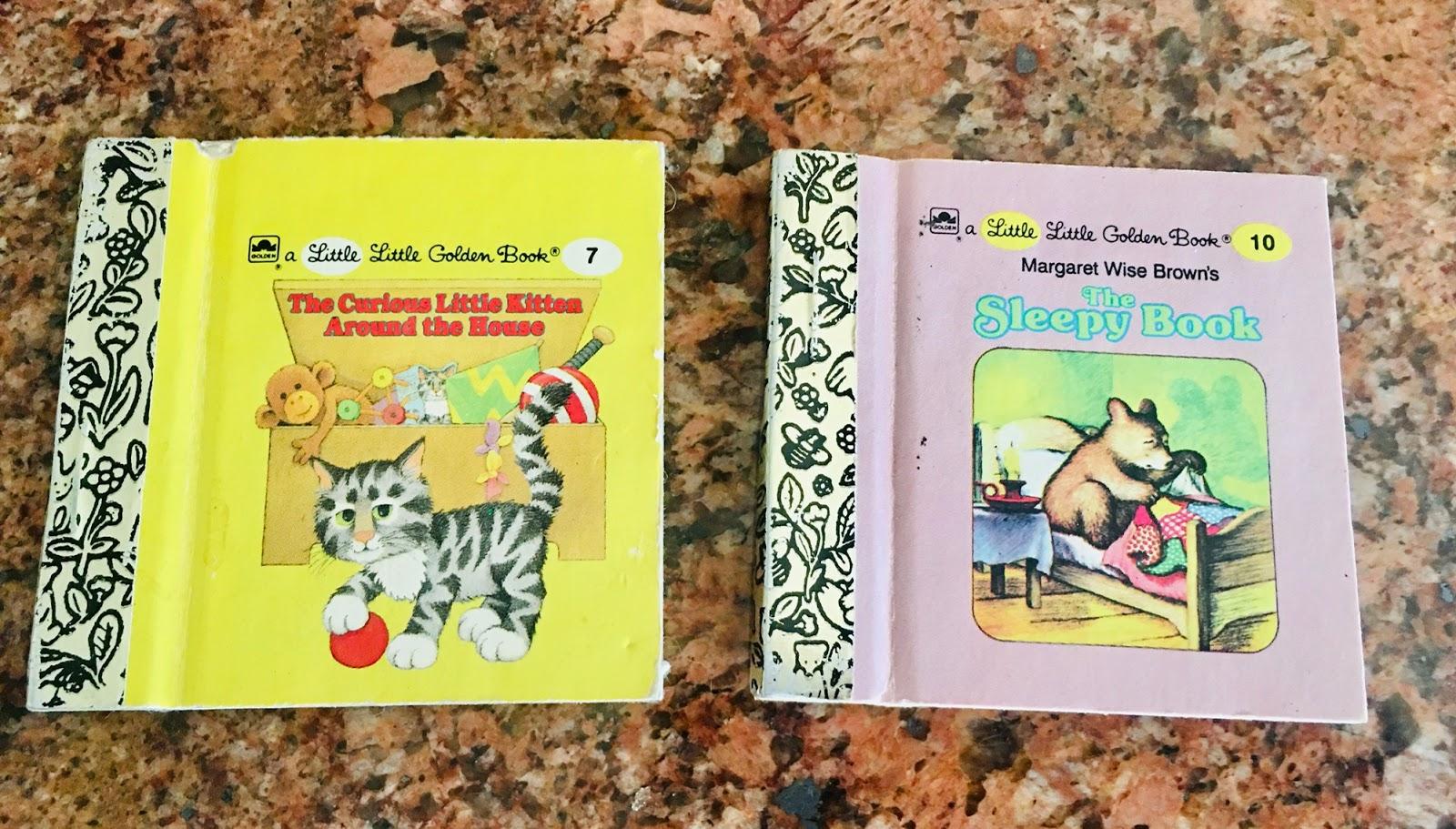 Dollhouse Miniature Books  Little Golden Books Disney/'s Pinocchio 2