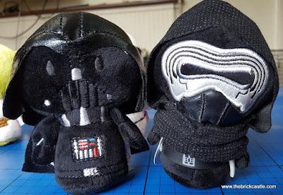 Darth Vader Kylo Ren Itty Bittys from Hallmark
