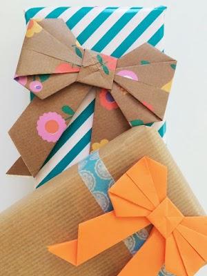 Cara Membuat Origami Pita Kado Mudah