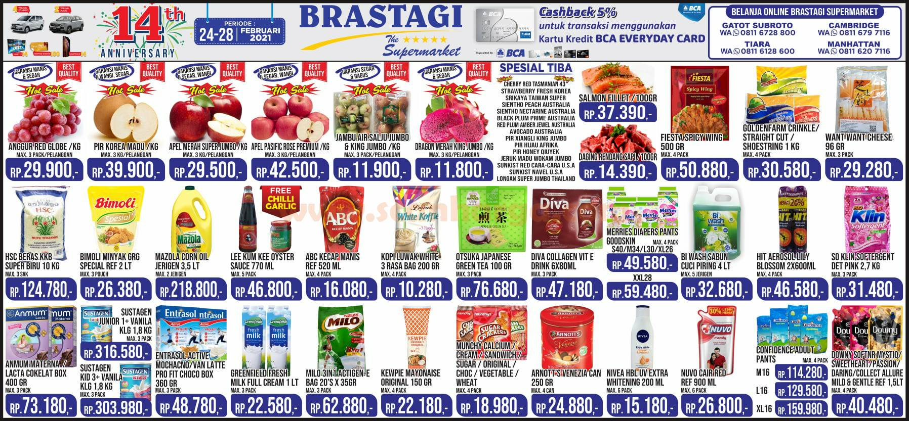 Katalog Promo JSM Brastagi Weekend 24 - 28 Februari 2021