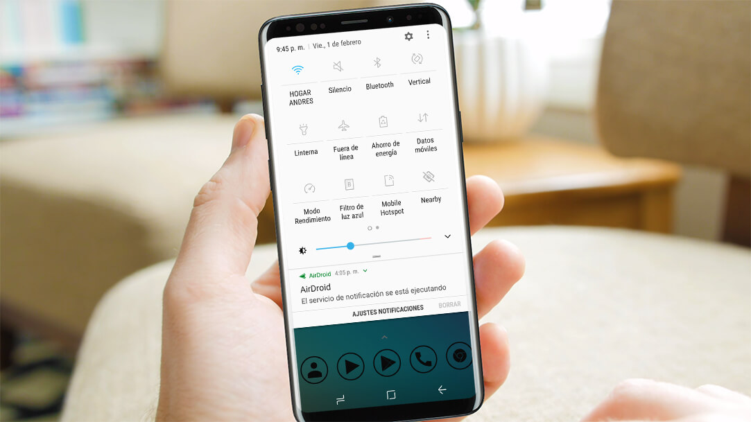 Ajustar y personalizar configuraciones rápidas de Android