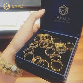 nhẫn kim tiền vàng non 10k