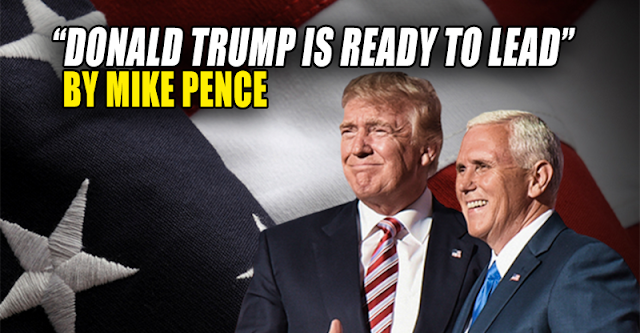 Mike Pence: Donald Trump is Ready to Lead