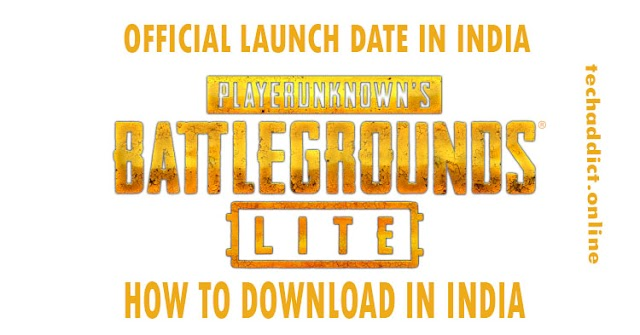 PUBG Lite Launch Date in India: Steps How to Download