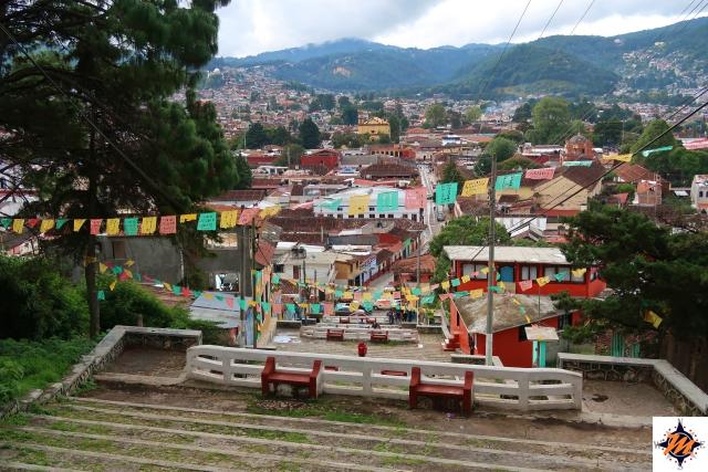 San Cristóbal de Las Casas, vista dal Cerro San Cristóbal