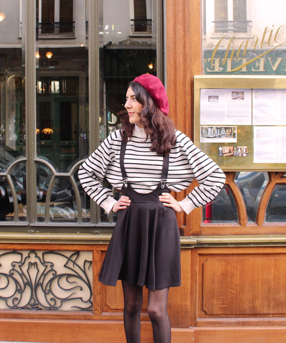Parisian blogger