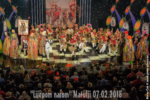 """HRT javno snimanje emisije """"Lijepom našom"""" Matulji 07.02.2018"""