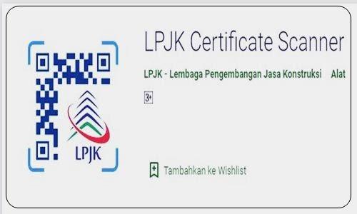 Foto Review Cara Cek Keaslian Sertifikat SKA, SKT dan SBU Digital di Aplikasi SIKI LPJK Certificate Scanner Via Online Terbaru - www.herusetianto.com