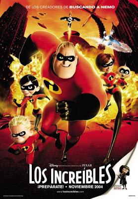 The Incredibles 2004 DVD R1 NTSC Latino