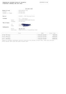 Contoh Format Pemberitahuan Impor Barang-PIB Serta E-Billing Untuk Pemilik API-U Pribadi/Perseorangan