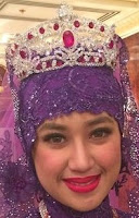 ruby tiara queen saleha brunei princess raabi-atul