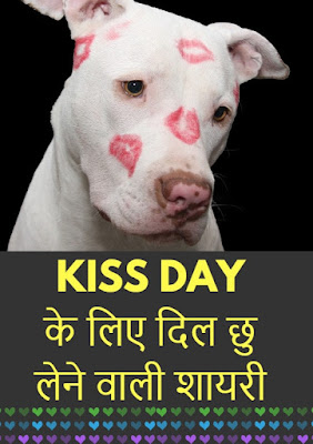 Kiss Day के लिए दिल छु लेने वाली शायरी !
