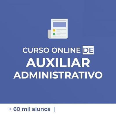 Curso Online de Auxiliar Administrativo - Qualificação Profissional