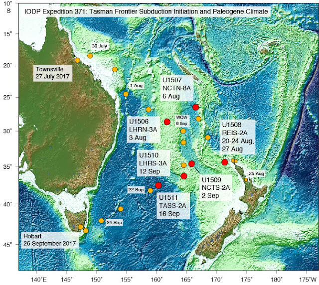 Deformation of Zealandia, Earth's Hidden Continent, linked to forging of the Ring of Fire