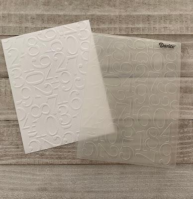 Darice Number Embossing Folder