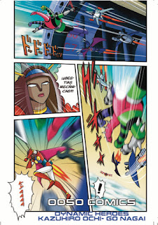 OOSO Comics lanza el pre-order de DYNAMIC HEROES 4.