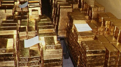 World Places Fort Knox Gold
