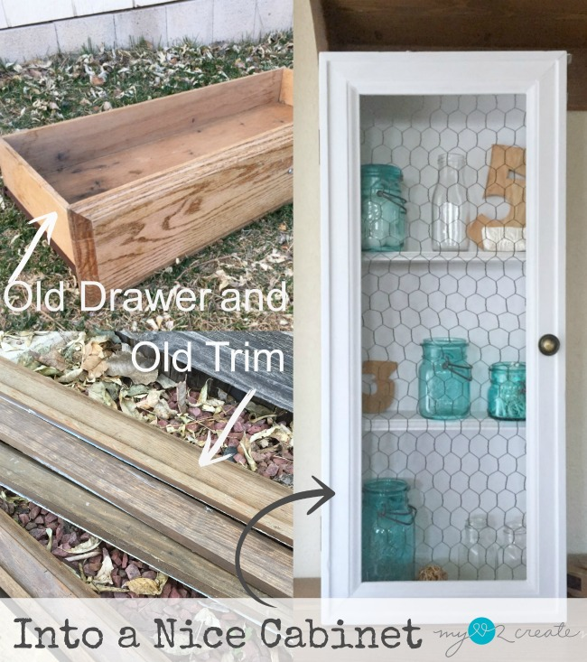 Turn A Drawer Into A Cabinet
