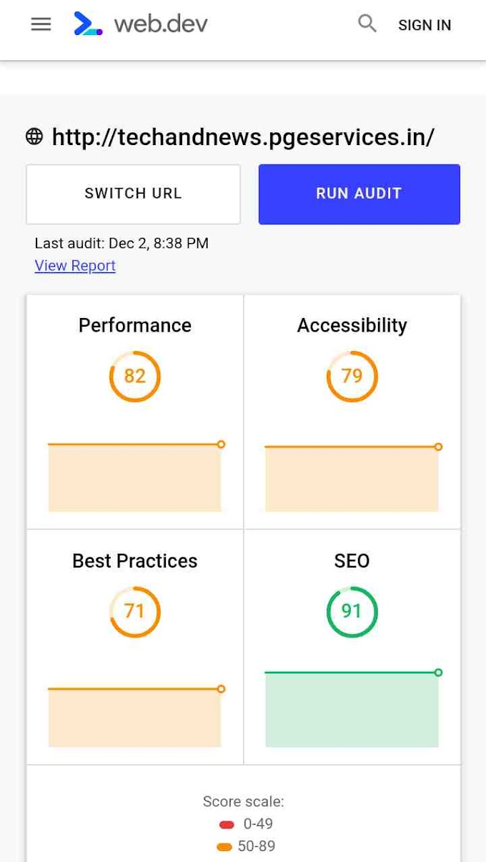 Google launched it,s own free seo tool called as web.dv