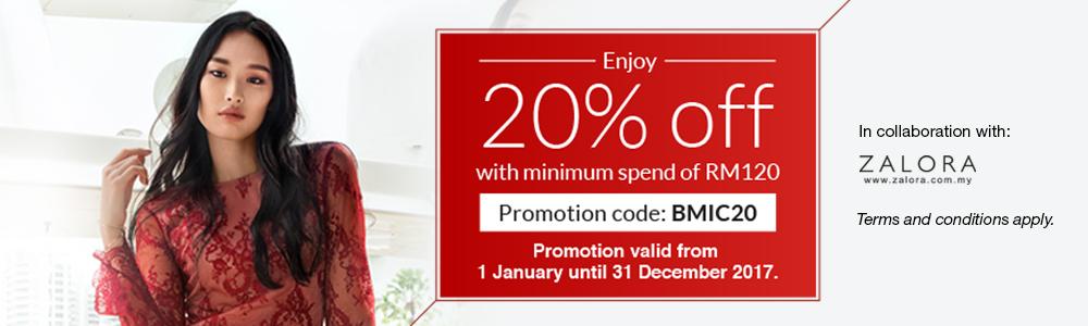 Cimb Bank Cards Offer Zalora 20 Off Promo Code Minimum Spend