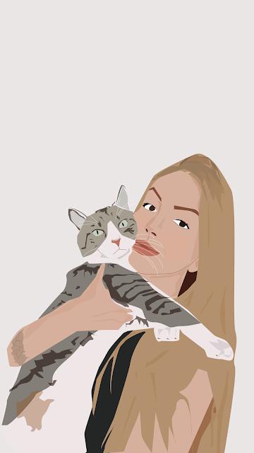Novas ilustrações de Donos e Pets