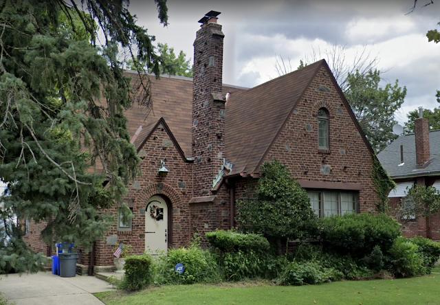 1227 Disston St, Oxford Circle neighborhood of Philadelphia Sears customized brick house