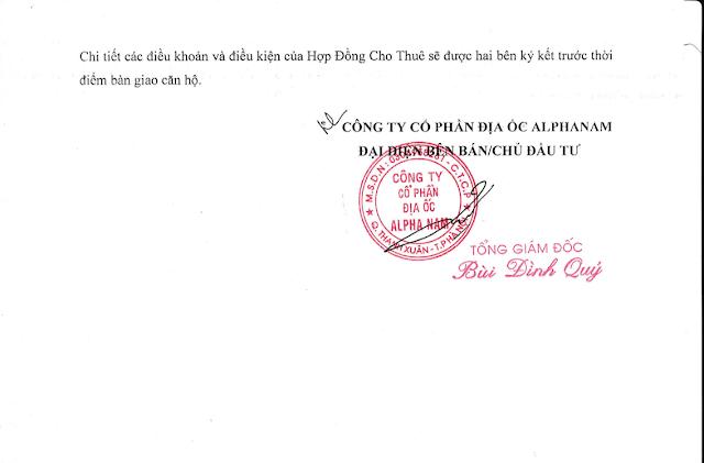 Cam kết cho thuê Luxury Apartment Đà Nẵng