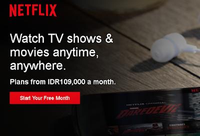 Netflix Resmi Masuk Indonesia