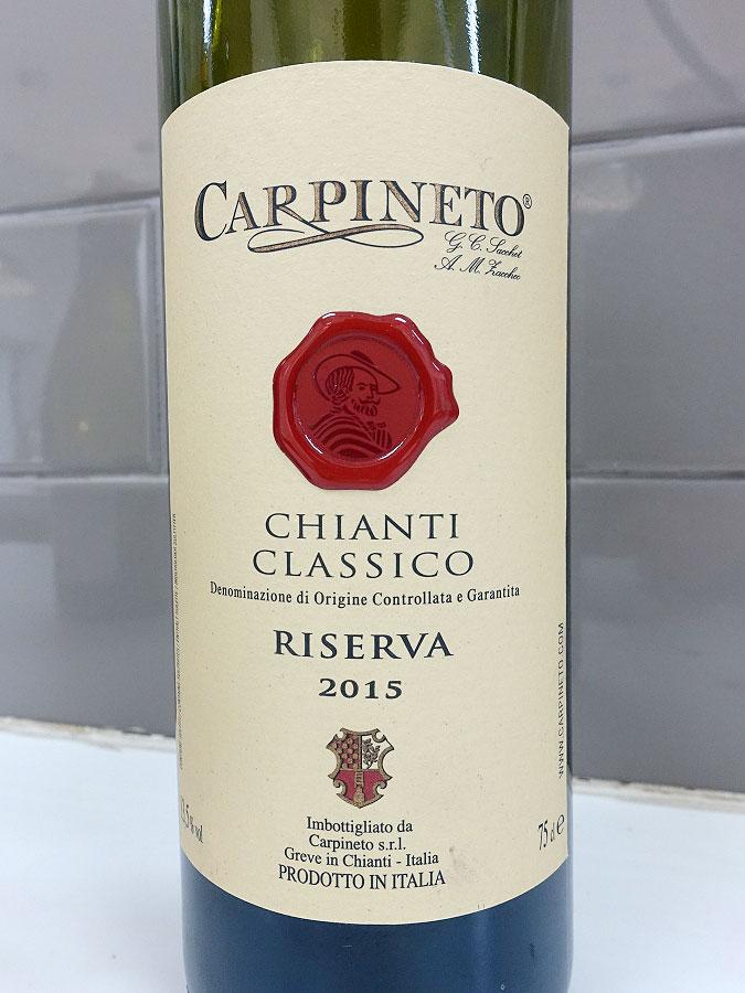 Carpineto Riserva Chianti Classico 2015 (90 pts)