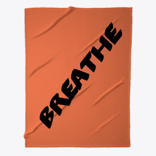 Breathe Fleece Blanket Orange