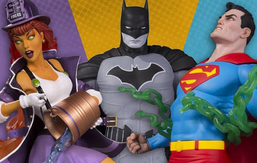 Strike A Pose With New DC Collectibles Statues